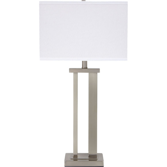 Aniela  Table Lamp Pair - Silver
