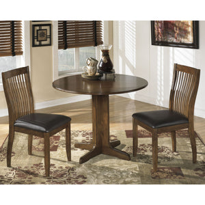 Stuman 3 Piece Dinette - Dark Brown