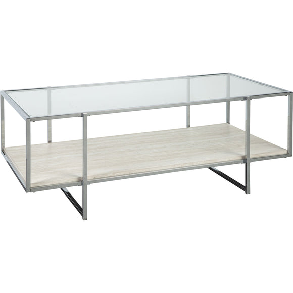 Agrero Coffee Table - Brown