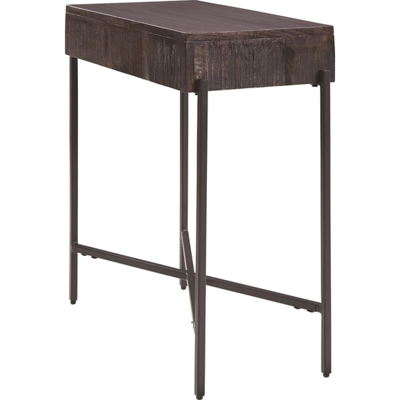 Matler  Accent Table - Grayish Brown