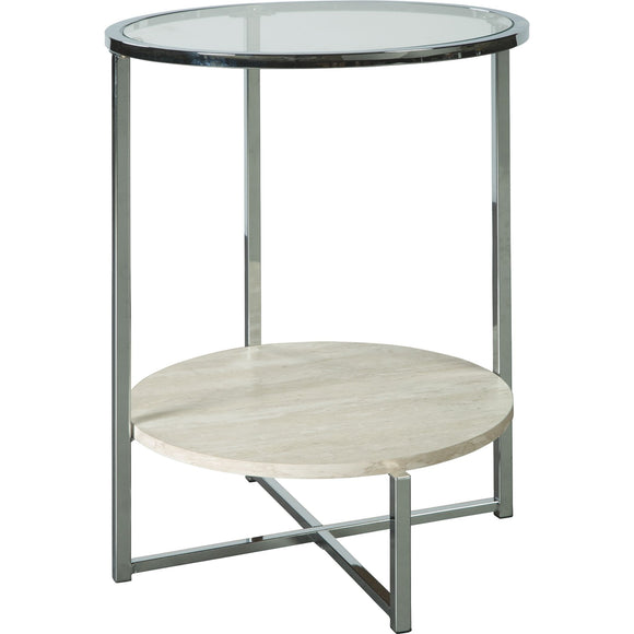 Agrero End Table - Brown