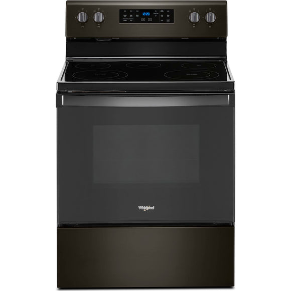 Whirlpool 30 Electric Range - Black Stainless