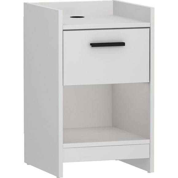Central Park Nightstand - White