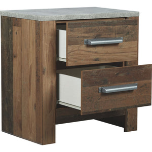 Glen Eagle Nightstand - Brown