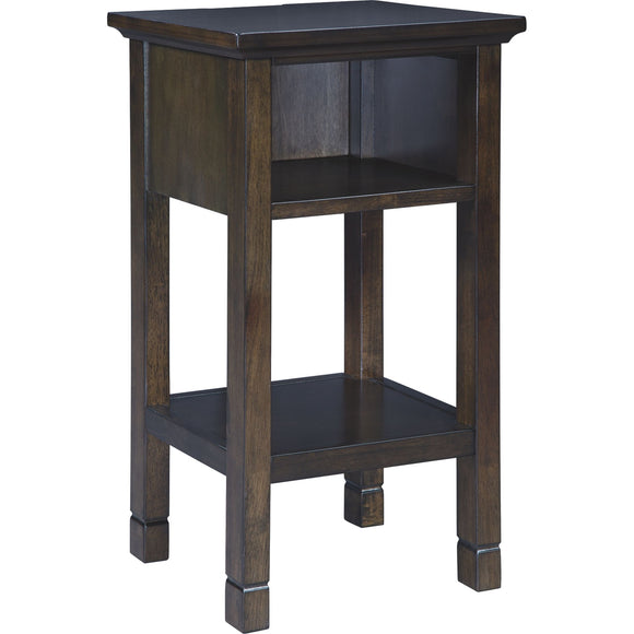 Marnville Accent Table - Dark Brown