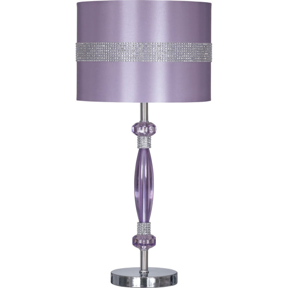 Nyssa Table Lamp - Purple