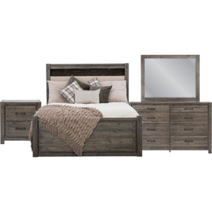 Stockton 7 Piece Queen Storage Bedroom - Slate