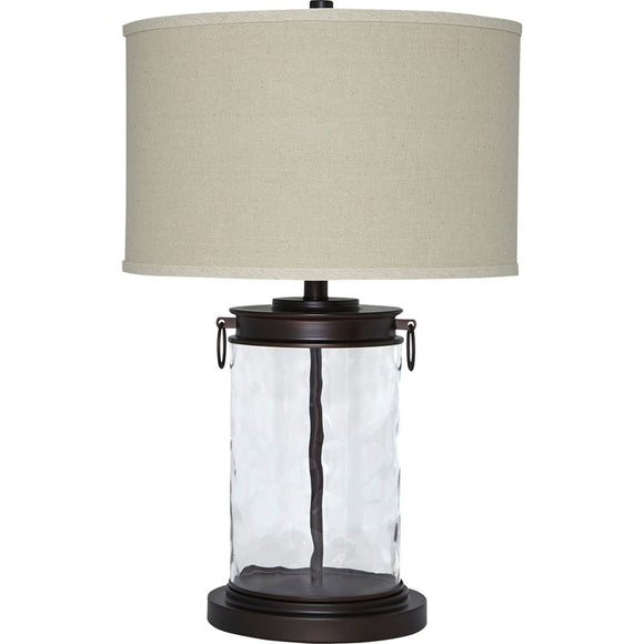 Tailynn Table Lamp - Glass