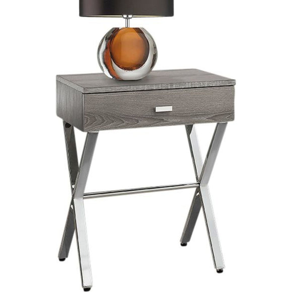 Night Stand RTA Chairside Table - Dark Taupe