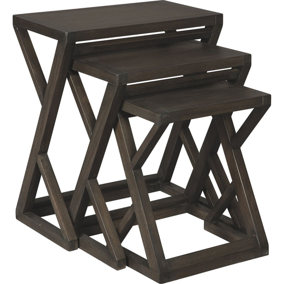 Cairnburg  Accent Table - Brown