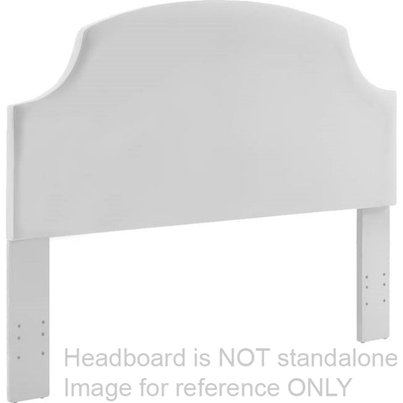 Bianco Full Panel Headboard - Gray