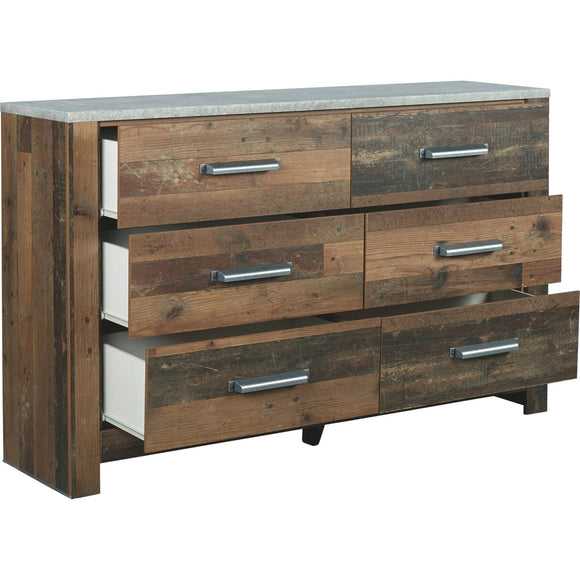 Glen Eagle Dresser - Brown