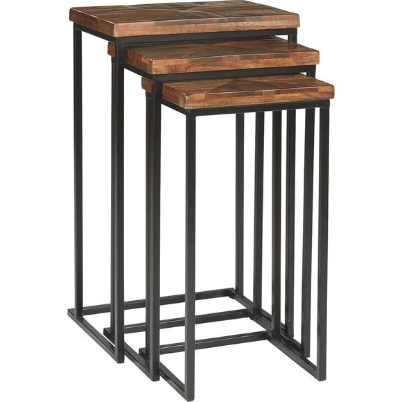Cainthorne Accent Table - Brown/Black