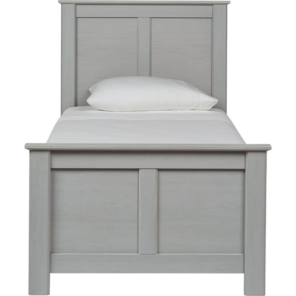 Bianco 4 Piece Twin Storage Bed - Gray