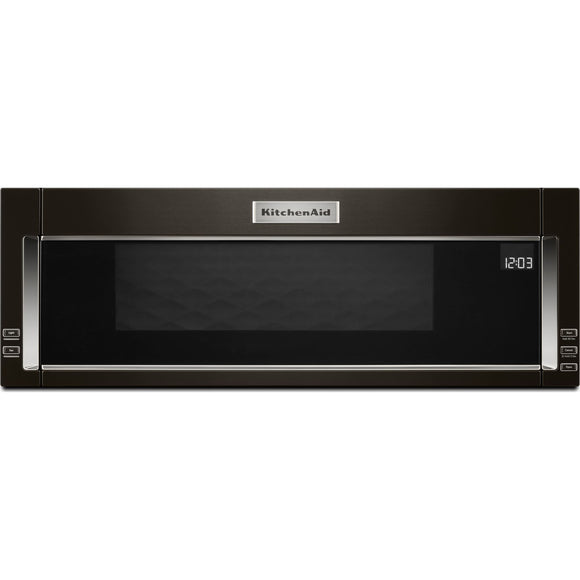 KitchenAid Over the Range Microwave - Black Stainless