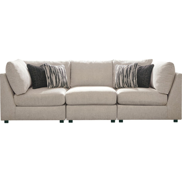Kellway 3 Piece Sectional - Bisque