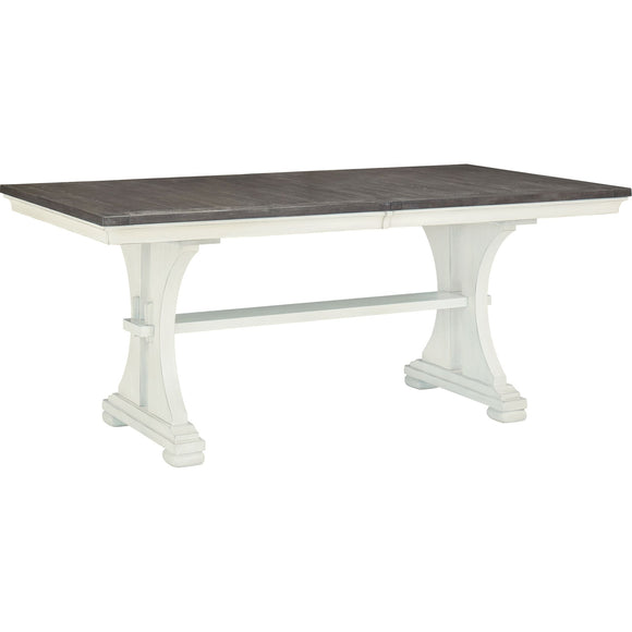 Nashbryn Table - Two-tone