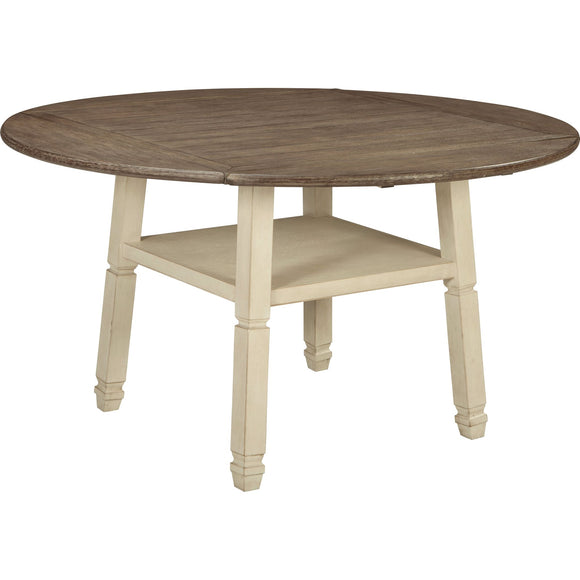 Bolanburg  Drop Leaf Table - Two-tone