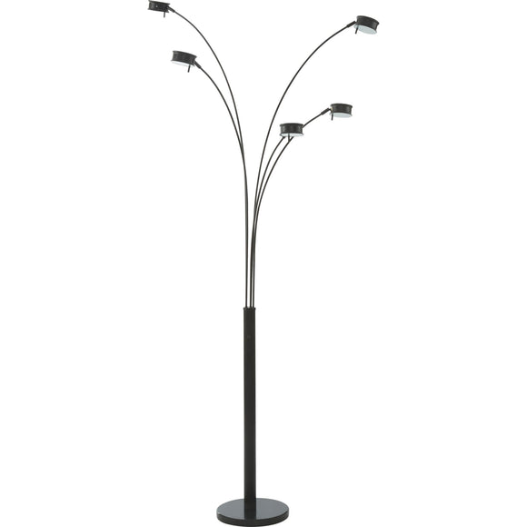 Marike Floor Lamp - Black/Gray