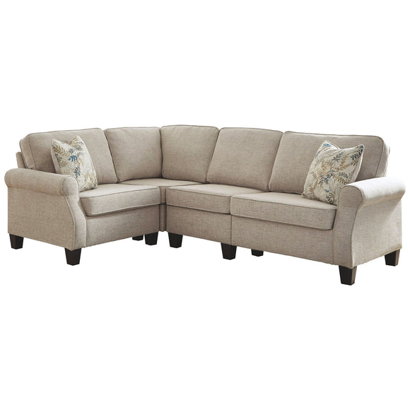 Alessio 4 Piece Sectional - Beige