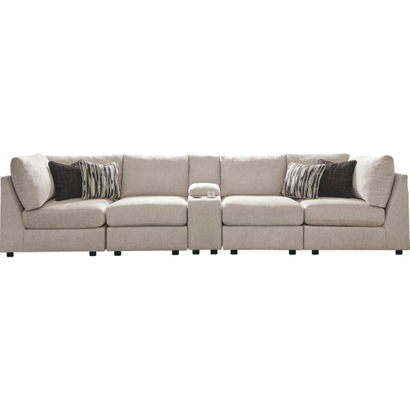 Kellway 5 Piece Sectional - Bisque