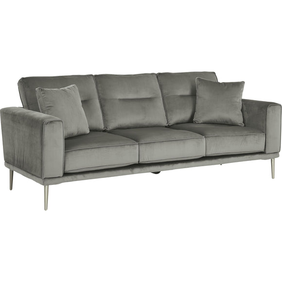 Macleary Sofa - Black/Gray