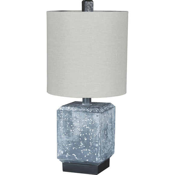 Jamila Table Lamp - Black/Gray