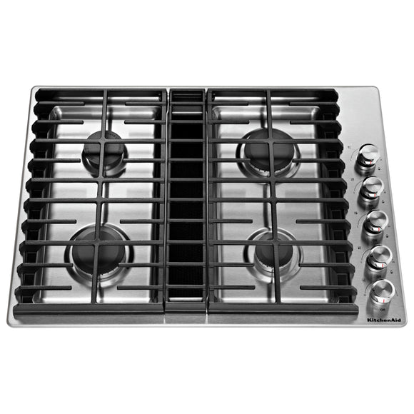 KitchenAid 30 Cooktop - Stainless Steel
