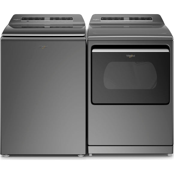 Whirlpool Top Load Pair - Chrome Shadow