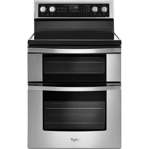 Whirlpool Dual Oven Range - Stainless