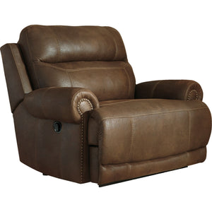 Austere Wall Recliner - Brown