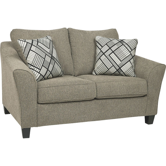 Barnesley Loveseat - Platinum