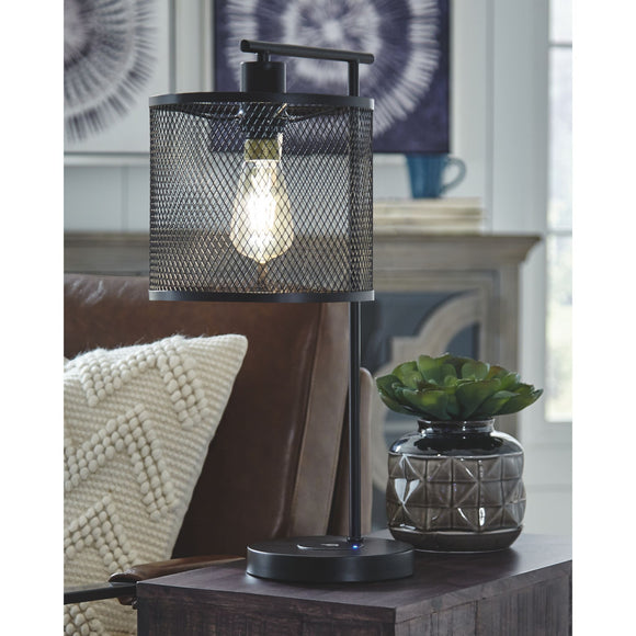 Nolden Table Lamp - Brown