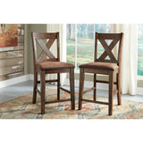 Chaleny 3 Piece Dinette - Warm Brown