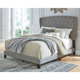 Vintasso King Bed - Gray