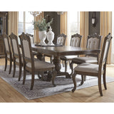 Charmond 10 Piece Casual Dining - Brown