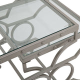 Linx  S2 Nesting Table - Silver