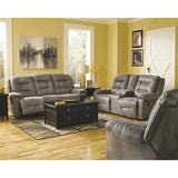 Rotation Power Rocker Recliner - Smoke
