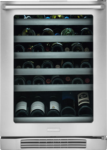 "Electrolux 24"" Under-Counter Wine Cooler with Right-Door Swing"