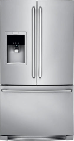 Electrolux 27 Cu. Ft. Standard-Depth French Door Refrigerator with Wave-Touch® Controls