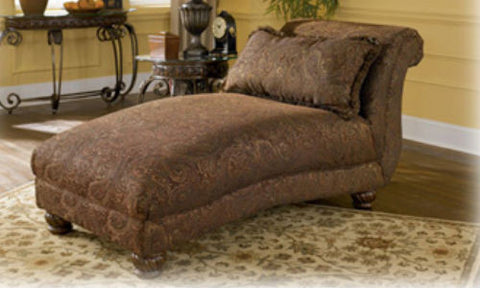 Wilmington Walnut Chaise