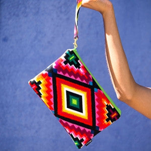 Bags - Ojos Wristlet Clutch by 2 Chic Designs - 1