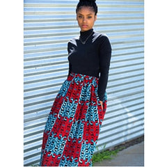 Skirts - Mel Maxi Skirt by Diggin Her Roots - 1