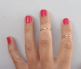 Jewelry - Brass Midi Rings by Mahnal - 2
