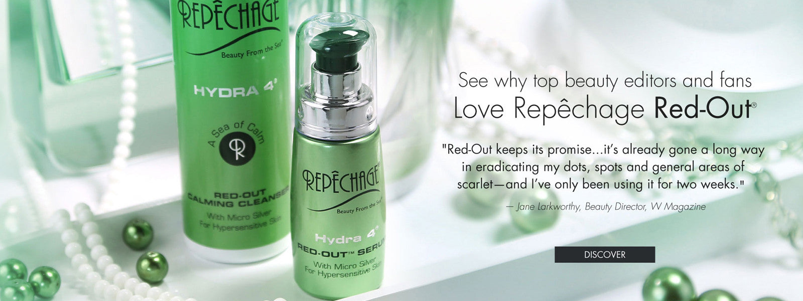 See why top beauty editors and fans Love Repechage Red Out!