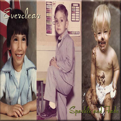 "Everclear ""Sparkle and Fade"" 180G LP"