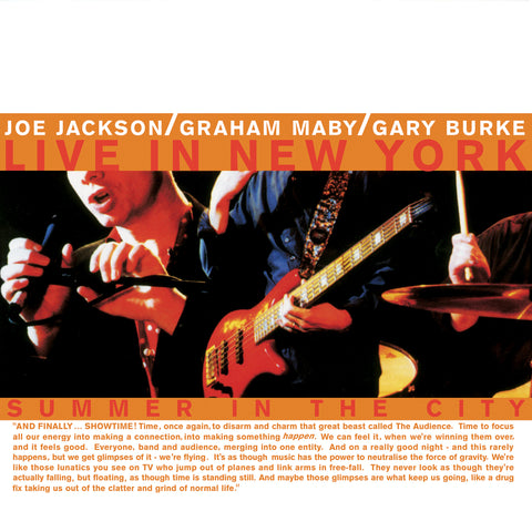 "Joe Jackson ""Summer In the City"" 180G LP (ON SALE!)"