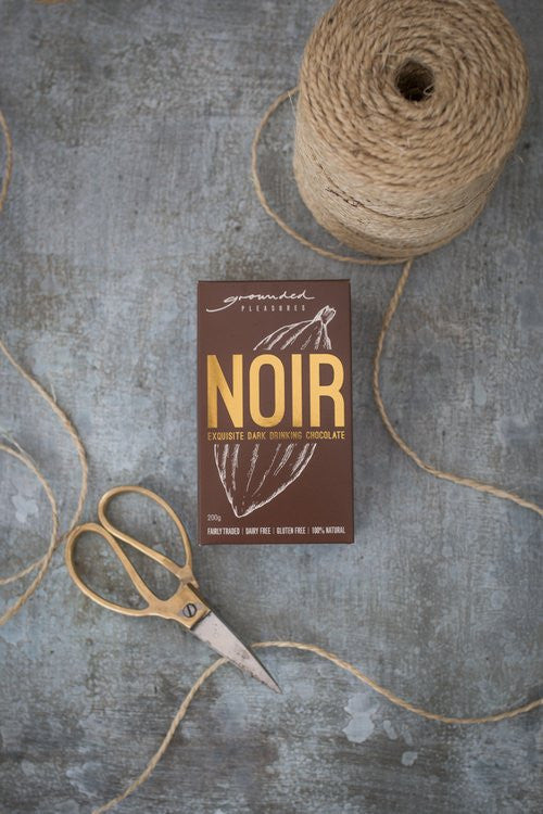 GROUNDED PLEASURES DRINKING CHOCOLATE - NOIR