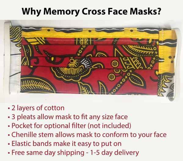 Memory Cross Face Mask