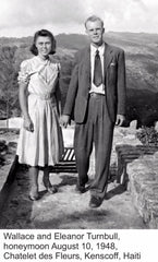 Wall ace and Eleanor Turnbull 1948